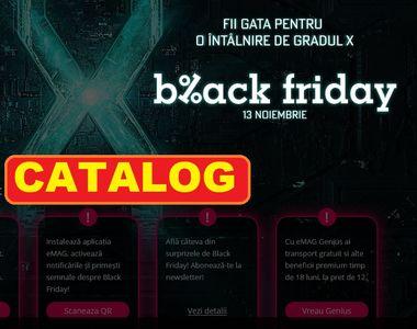 Catalogul eMag de Black Friday. Toate reducerile sunt AICI - Live Update