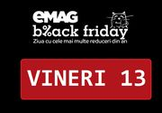 Primele 10 produse reduse de eMag pentru Black Friday. Un televizor Samsung Smart ultra HD costă 999 lei