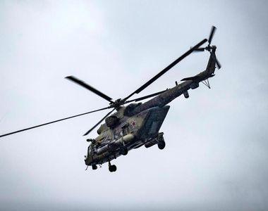 Elicopter prăbușit, cel puțin 8 morți. Un singur supraviețuitor
