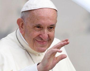 Papa Francisc s-a rugat pentru toți cei care au trecut prin incendiul de la Piatra...