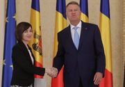 Klaus Iohannis o felicită pe Maia Sandu pentru câştigarea alegerilor prezidenţiale din R. Moldova