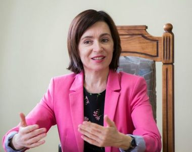 Maia Sandu devine prima femeie preşedintă a Republicii Moldova