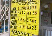 Curs valutar, azi 17 noiembrie 2020. Leul scade semnificativ
