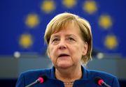 """Angela Merkel vrea măsuri mai stricte: """"Situația cu privire la pandemia de coronavirus rămâne foarte gravă"""""""