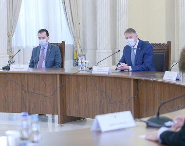 """Klaus Iohannis, declarații după """"celula de criză"""" convocată la Cotroceni -..."""