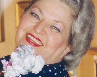 Actrița Draga Olteanu Matei va fi înmormântată duminică la Piatra Neamț