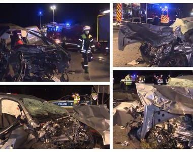 Grav accident rutier pe o autostradă din Germania