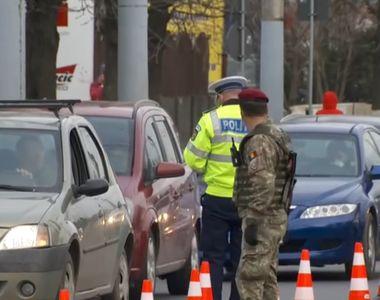 VIDEO - Carantină în Sibiu. Localnicii sunt verificați de poliție