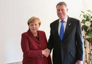 Iohannis, discuţii cu Angela Merkel despre bugetul multianual al UE 2021-2027