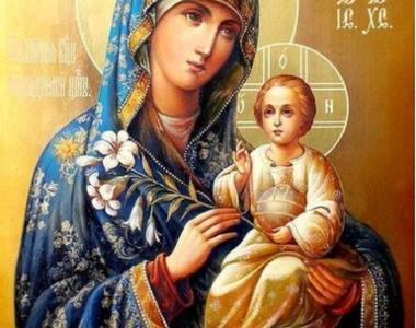 Rugăciune către Maica Domnului pe care s-o spui dimineața, înainte să te dai jos din pat