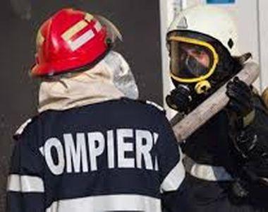 Incendiu în una dintre băile Spitalului CFR din Cluj