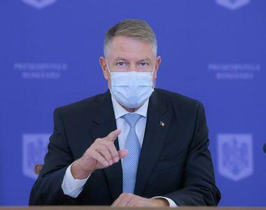 Klaus Iohannis, decizia momentului legată de campania de vaccinare anti-COVID