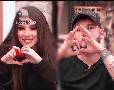 """George și Mădălina de la """"Puterea Dragostei"""" și-au tatuat numele reciproc, pentru..."""