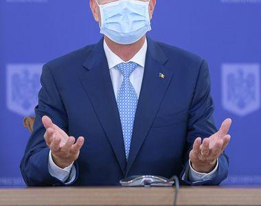 """Klaus Iohannis convoacă din nou CSAT. """"Vaccinul anti-COVID, speranța de a ne..."""
