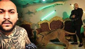 VIDEO - Manelistul Dani Mocanu a fost dus de leu să dea cu subsemnatul