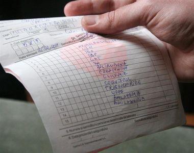 Serviciile medicale paraclinice pot fi acordate oriunde in ţară, în baza biletului de...