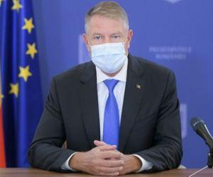 Klaus Iohannis va susţine o declaraţie de presă la Palatul Cotroceni