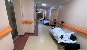"""Imagini devastatoare de la spitalul """"Matei Balș"""": """"Pacienţii stau pe scaune la oxigen. Terapia intensivă s-a mutat pe holuri"""""""