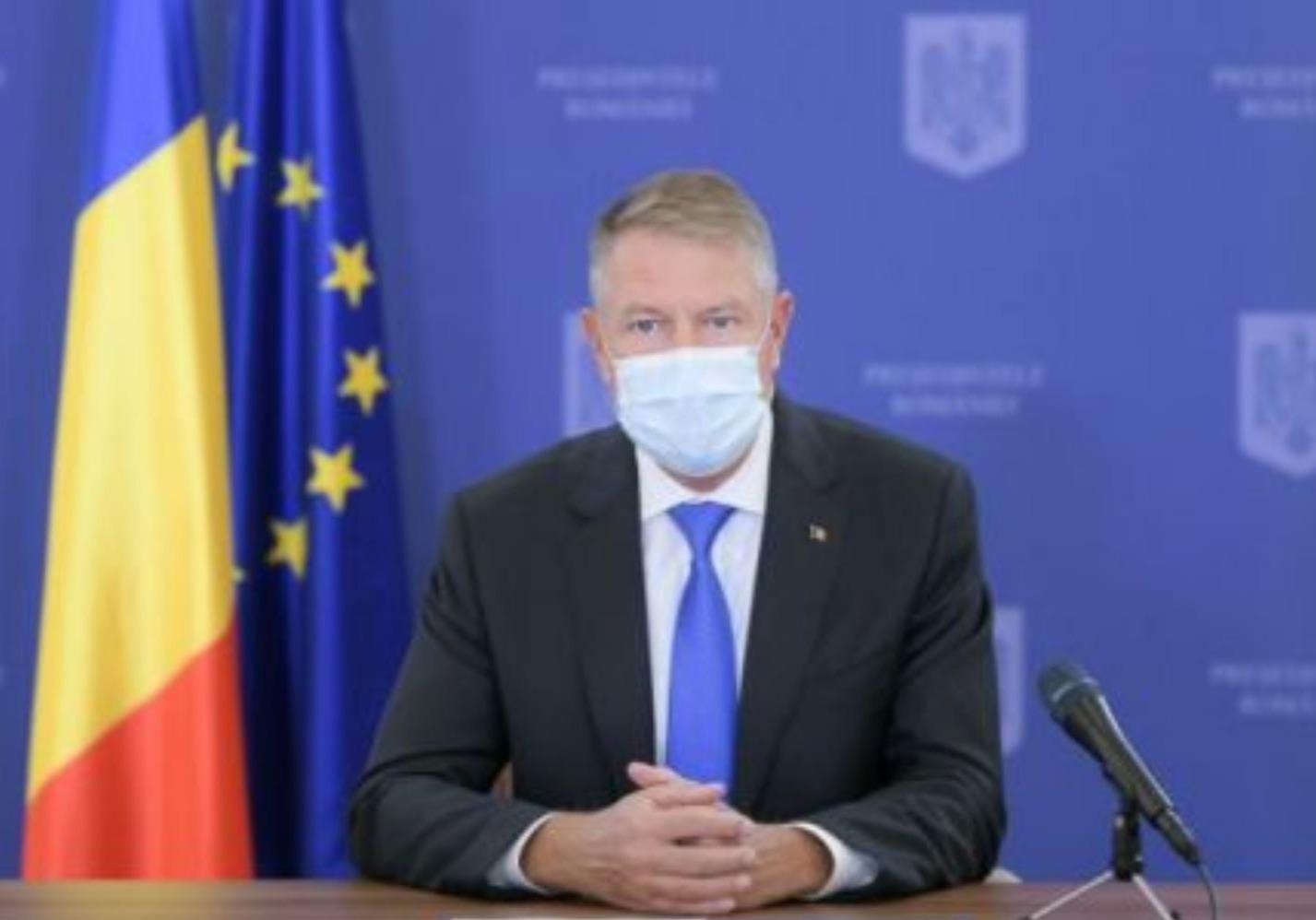 """Preşedintele Klaus Iohannis, anunț după ședința de la Cotroceni. """"Am ajuns pe un palier, iar tendința este de scădere"""""""