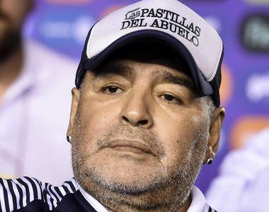 Celebrul fotbalist Diego Maradona a fost înmormântat