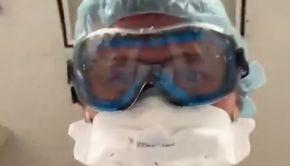 Cutremurător! Ultimele imagini pe care le vede un bolnav Covid înainte de a muri - VIDEO