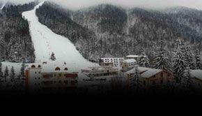 VIDEO - Azuga este prima stațiune cu zăpadă (artificială) din sezon