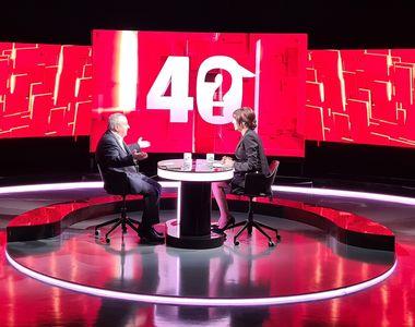 """Ion Cristoiu, următorul invitat la """"40 de întrebări cu Denise Rifai"""", într-un interviu..."""