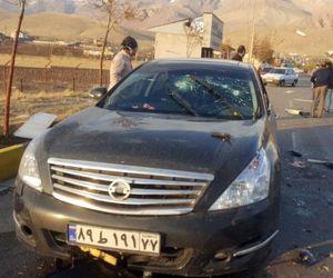 teheran Iran om de stiinta Mohsen Fakhrizadeh a murit atac terorist