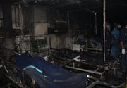 Tragedia de la Spitalul Judeţean din Piatra Neamţ s-a repetat. Cinci pacienți cu COVID-19, morți într-un incendiu la o secţie ATI
