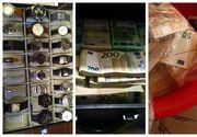 VIDEO - Permise de vânzare, averi din șpagă. Jumătate de milion de euro, într-un lighean și mai multe găleți