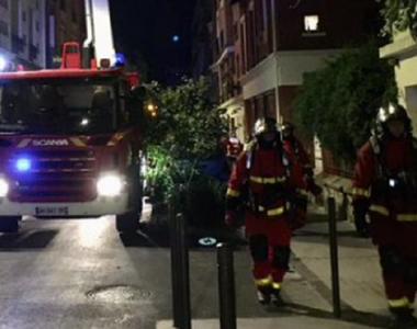 Incendiu devastator într-un centru pentru migranți la Paris