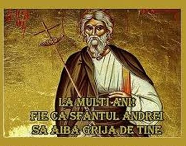 La mulţi ani de Sfântul Andrei 2020! Felicitări şi mesaje frumoase pentru Andreea şi...