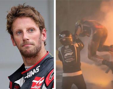 Miraculos! Pilotul francez de Formula 1 Romain Grosjean iese viu și nevătămat din...