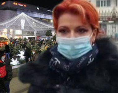 VIDEO - Scandal la târgul de Crăciun