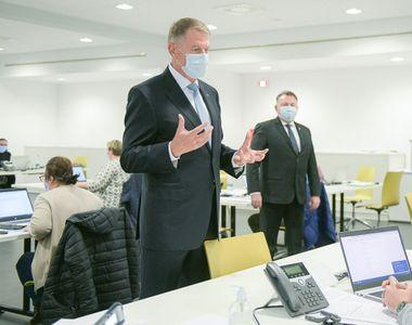 """Klaus Iohannis,mesaj  îmbucurător pentru Români: """"Măsurile de restricție încep să dea..."""