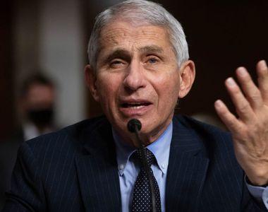 """Lovitură fără precedent! Expertul Anthony Fauci, declarații cutremurătoare:  """"Nu..."""