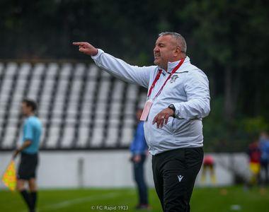 FC Rapid rămâne fără antrenor și și ratează ultimul meci din 2020