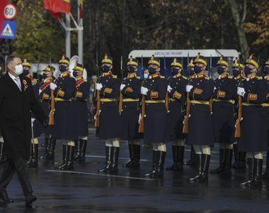 """Fără paradă militară de 1 Decembrie 2020. Klaus Iohannis: """"Criza sanitară ne..."""