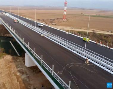 Se deschide primul tronson de autostradă din regiunea Moldovei. Hei-rup înainte de alegeri
