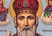 Sfântul Nicolae 2020 data. În ce zi pică sărbătoarea