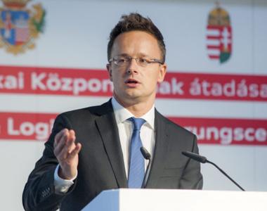 """Ministrul de Externe al Ungariei: """"Vom continua programul de dezvoltare economică..."""