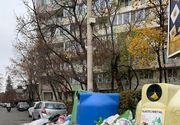 Haos în sectorul 1 din București. Străzile sunt pline de gunoi menajer, iar trecătorii sunt oripilați