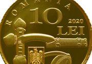 BNR lansează luni o nouă monedă. Cum arată moneda cu valoare de 10 lei