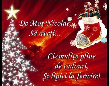 Mesaje și felicitări de la mulți ani în imagini de Sfântul Nicolae. Urari virtuale...