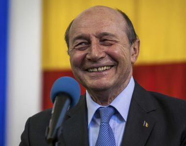 """Traian Băsescu: """"PMP a trecut pragul, va avea 7%. Eu sper ca domnul preşedinte..."""