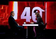 """Victor Ponta, următorul invitat la """"40 de întrebări cu Denise Rifai"""""""