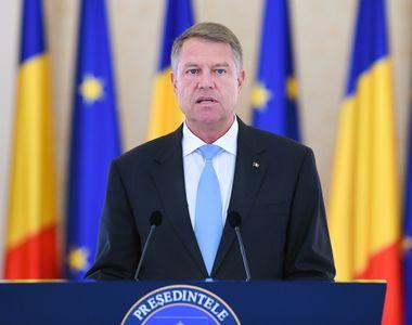 """Klaus Iohannis: """"După o perioadă foarte lungă, PSD poate să rămână în afara..."""