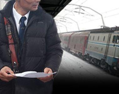 VIDEO - Trenurile românești au înghețat iar odată cu vremea rea de afară