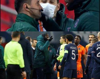 """Arbitru român, acuzat de rasism la un meci din Liga Campionilor. """"De ce ai spus..."""