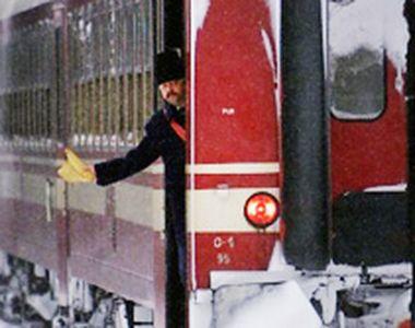 VIDEO - Trenurile au fost oprite din nou din mers de înghețul din țară